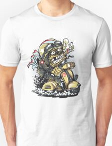 crazy biker Unisex T-Shirt