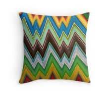 Chevron (Square) Throw Pillow