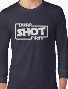 Burr Shot First Square Long Sleeve T-Shirt