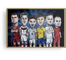 Football Stars of 2014 Metal Print