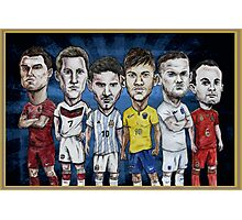 Football Stars of 2014 Photographic Print