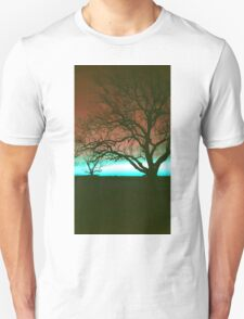 ViewsFromTheAether Tree Silhouette Unisex T-Shirt