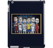 Football Stars of 2014 iPad Case/Skin