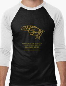 Weehawken Institute in Gold Men's Baseball ¾ T-Shirt