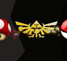 Mario Mushroom by zombiemolly