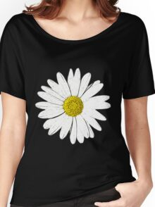 Large Daisy Summer Fashion Women's Relaxed Fit T-Shirt
