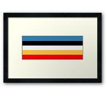 Donald Color Pallet Framed Print