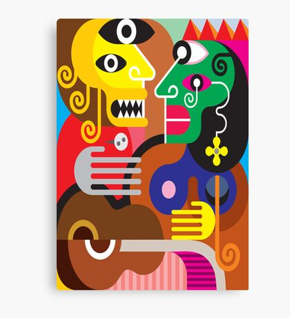 abstracto Canvas Print