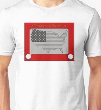 Magic Sketcher USA Unisex T-Shirt