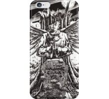 The Graveyard Book, 'The Ghoul Gate' - ink iPhone Case/Skin