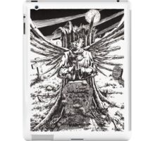 The Graveyard Book, 'The Ghoul Gate' - ink iPad Case/Skin