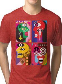 Abstracto 2 Tri-blend T-Shirt