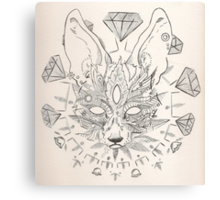 Space Fox 2nd Mutation Canvas Print