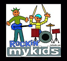 Rockin' MyKids© Tote & Throw Pillows by bafoodle