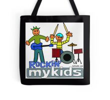 Rockin' MyKids© Tote & Throw Pillows Tote Bag