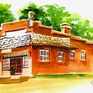 AV Art Studio in Watercolor by KipDeVore