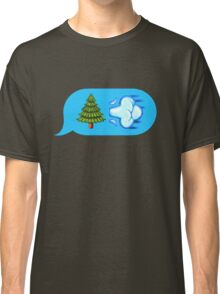 Blowing Trees Classic T-Shirt
