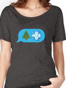 Blowing Trees Women's Relaxed Fit T-Shirt