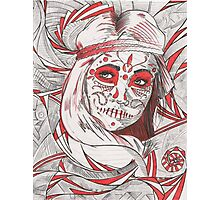 Day of the Dead in Red Photographic Print