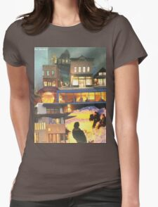 Arctic City - The Illumination Womens Fitted T-Shirt