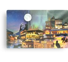 Arctic City - The Illumination Canvas Print
