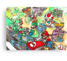 Super Mario Kart 8 Canvas Print
