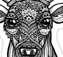 Mandala Deer Sticker