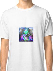 Trippy Skull - MAGIC FLOWER Classic T-Shirt