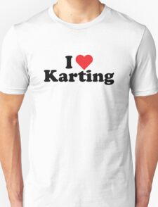 I Heart Love Karting T-Shirt