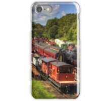 Crowds at Goathland Station iPhone Case/Skin