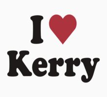 I Heart Love Kerry Kids Clothes