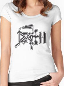 Death Women's Fitted Scoop T-Shirt