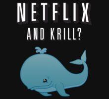 Netflix and Krill? Kids Tee