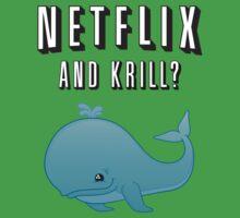 Netflix and Krill? One Piece - Short Sleeve