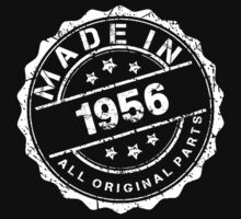 MADE IN 1956 ALL ORIGINAL PARTS by smrdesign