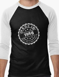 MADE IN 1956 ALL ORIGINAL PARTS Men's Baseball ¾ T-Shirt