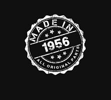 MADE IN 1956 ALL ORIGINAL PARTS Womens Fitted T-Shirt