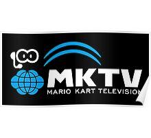 Mario Kart TV (White) Poster