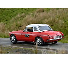 The Three Castles Welsh Trial 2014 - MGB Photographic Print