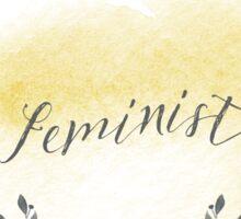 FEMINIST.  Sticker