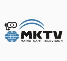 Mario Kart TV (Black) Kids Clothes