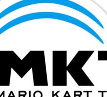 Mario Kart TV (Black) Sticker