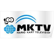 Mario Kart TV (Black) Poster