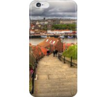Top of the Whitby Steps iPhone Case/Skin
