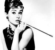 Audrey Hepburn by bab8ter
