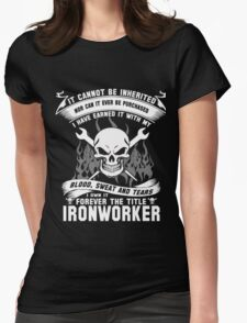 Ironworked Womens Fitted T-Shirt