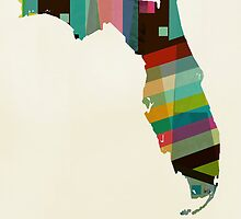 Florida state map by bri-b