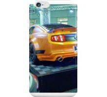 Flat Mustang iPhone Case/Skin