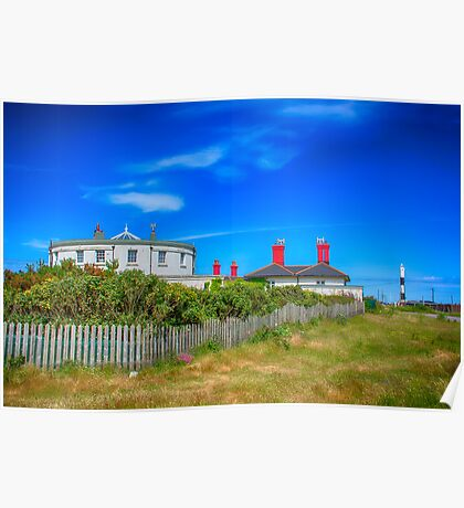 Dungeness Lighthouse Quarters Poster