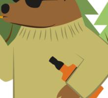 001 Gee of a bear Sticker